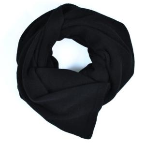 100% cashmere black