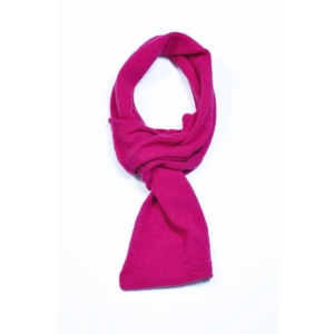 pink and ginger 100% cashmere cerise scarf