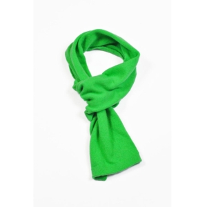 pink and ginger 100% cashmere green scarf