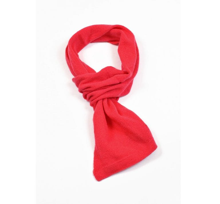pink and ginger 100% cashmere lust scarf