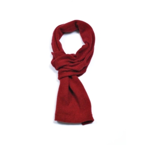 pink and ginger 100% cashmere wine scarf
