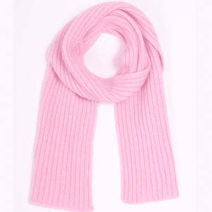 Pink And Ginger 100% cashmere pink children scarf