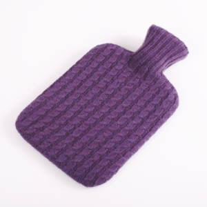 pink and ginger 100% purple hot water bottle