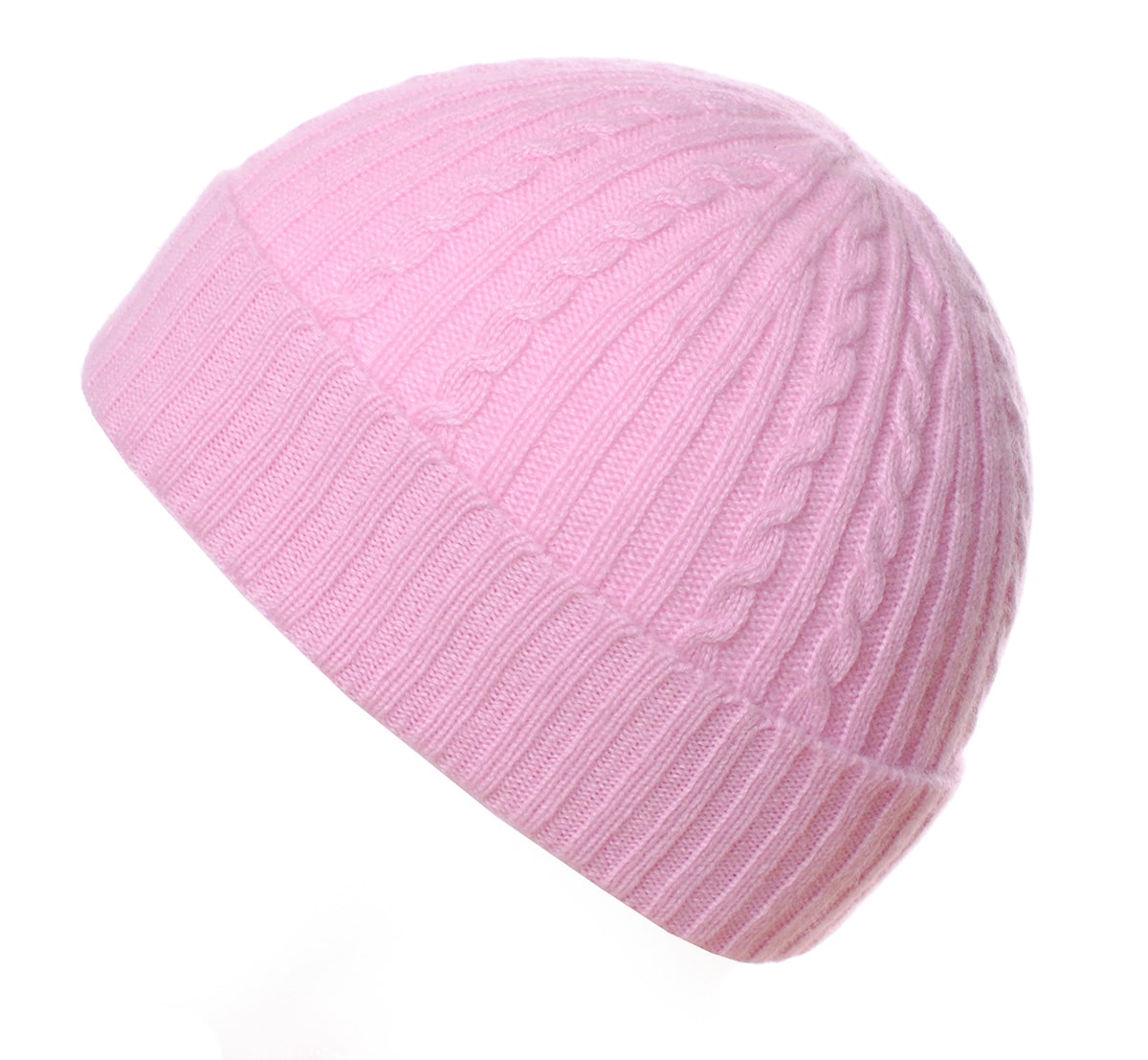 Pink and Ginger 100% cashmere pink childrens beanie