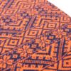 Pink and ginger 100% cashmere orange scarf